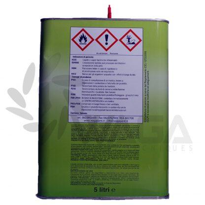 diluente acrilico 5 litri retro