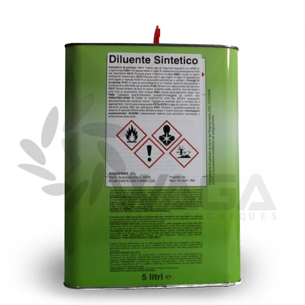 diluente sintetico 5 litri retro