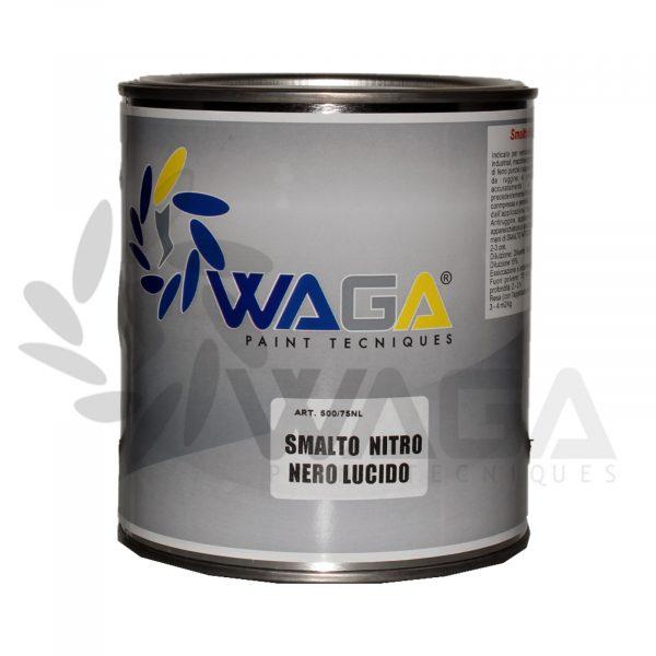 smalto nitro nero lucido 2,5 litri