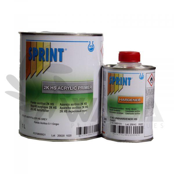 Imprimador + Endurecedor SPRINT 2K HS ACRILICO
