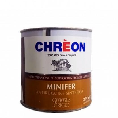 CHREON-MINIFER ANTIRUGGINE SINTETICA-GRGIO-375ML-Q030505-LQ305050.375