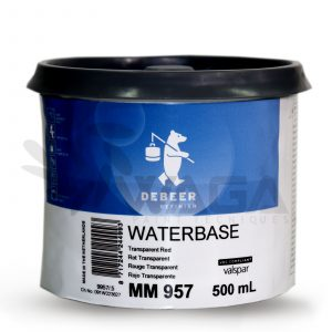 DEBEER MIX 900 WATERBASE 500ML PER TINTOMETRO CAR REFINISH