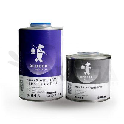 DEBEER TRASPARENTE HS420 AIR DRY 1 LT +CAT 500ML
