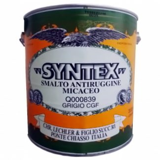 SYNTEX SMALTO ANTIRUGGINE MICACEO GRIGIO 3L GF Q00839-LQ8393