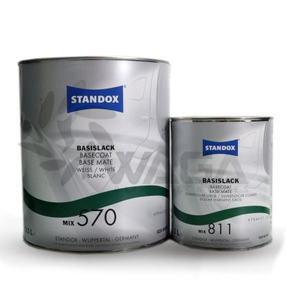 STANDOX MIX SISTEMA TINTOMETRICO CAR REFINISH 3,5 LT - 1 LT
