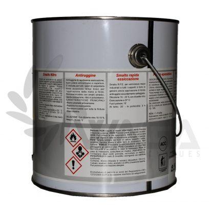Waga smalto nitro alluminio 2,5L retro