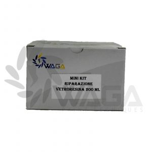 mini kit riparazione vetro resina 200 ml