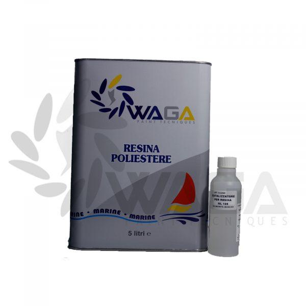 resina poliestere 5 litri