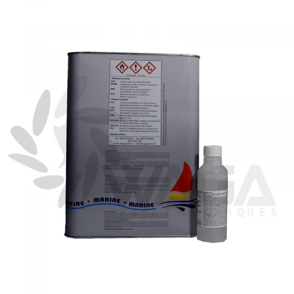 resina poliestere 5 litri retro