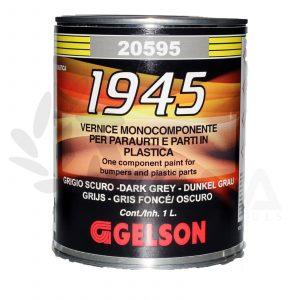 Gelson Vernice grigio scuro monocomponente per paraurti e parti in plastica 20595