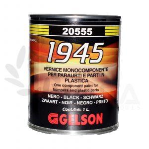 Gelson vernice nera monocomponente per paraurti e parti in plastica 20555